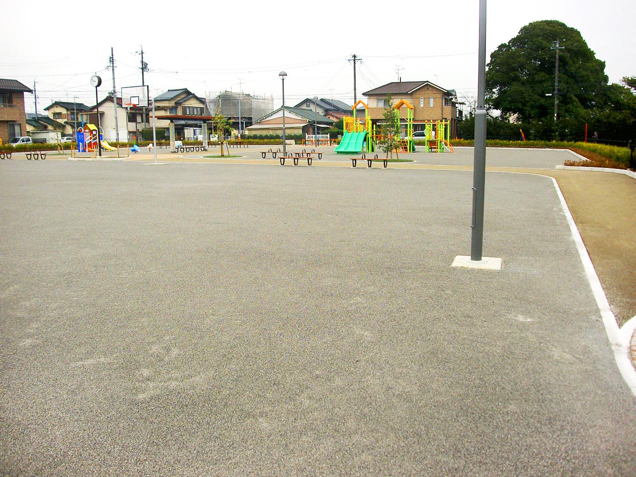 公園整備工事桜井山公園 小牧市