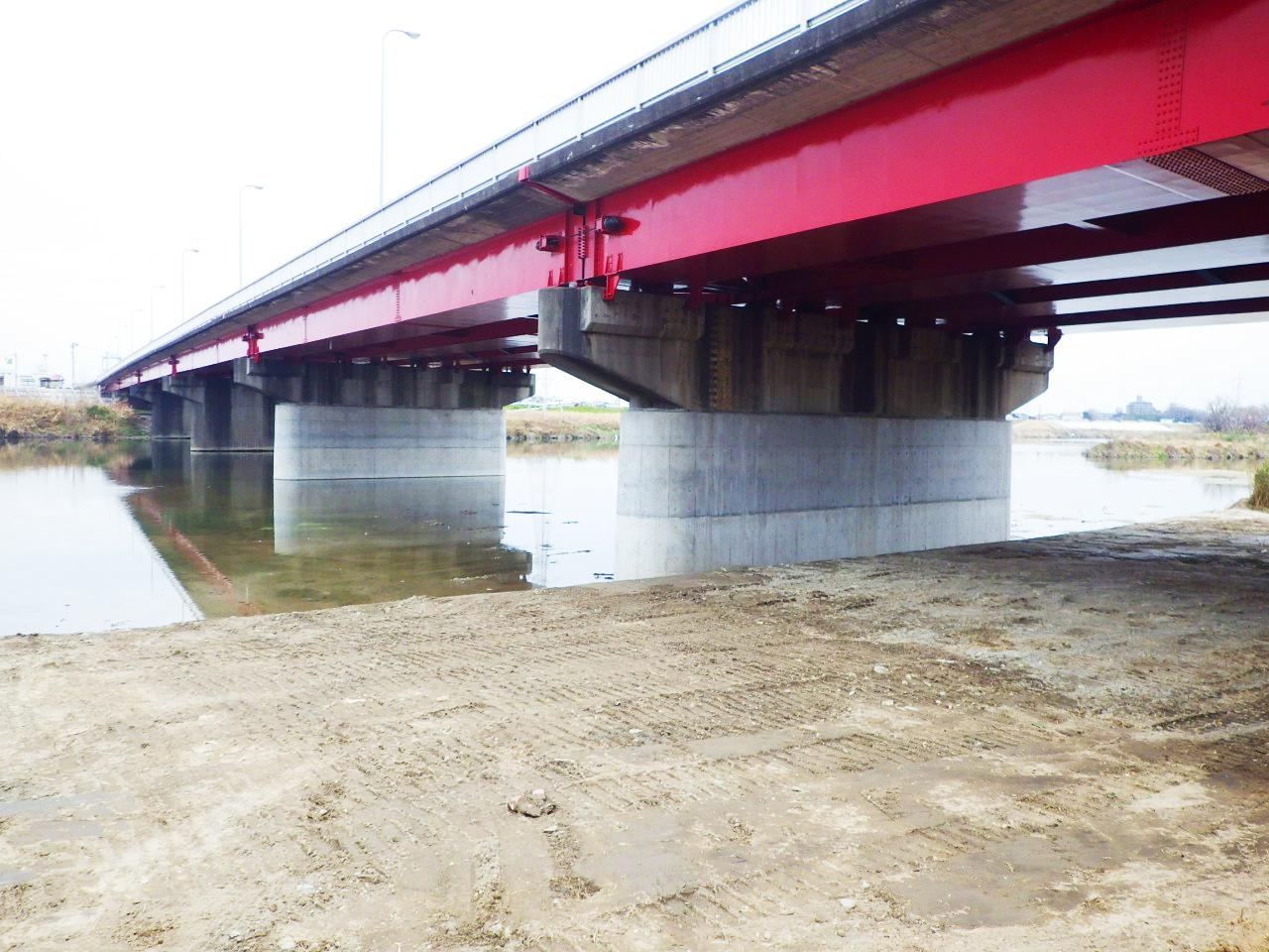 庄内川橋補強工事 名古屋市