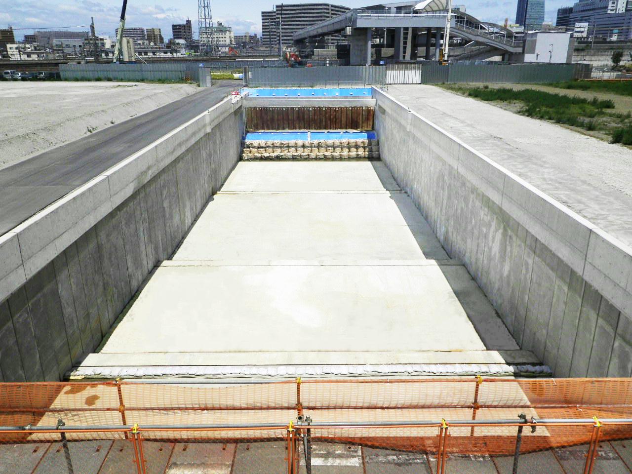 ささしまライブ24土地区画整理事業 都計椿町線道路改良工事 名古屋市